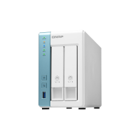 Qnap TS-231K | Storage NAS | 2 baias hot swap | Gigabit Ethernet