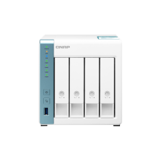 Qnap TS-431K | Storage NAS | 4 baias hot swap | Gigabit Ethernet