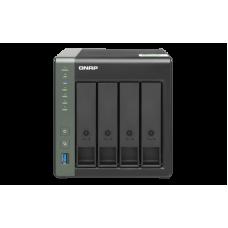 Qnap TS-431KX | Storage NAS | 4 baias hot swap | Gigabit Ethernet
