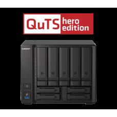 Storage 9 baias Qnap TS-h973AX - Ryzen - QTS Hero ZFS - até 90 TB
