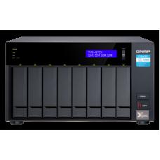 Qnap TVS-872X   Storage 8 bay     Intel i3 Quad Core 3.1 Ghz   HDMI 4k