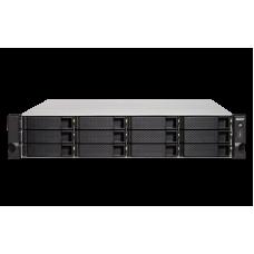Qnap TS-1263XU RP Storage NAS com 12 baias Rack 2U