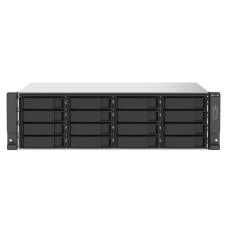 Qnap TS-1673AU-RP | Storage 16 baias | AMD Ryzen Quad Core | SSD e HD SATA | até 256 TB