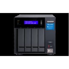 Qnap TVS-472XT | Thunderbolt 3 e Gigabit Ethernet | Storage 4 baias