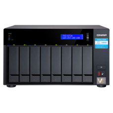 Qnap TVS-872N | Storage 8 baias |   5 Gb Ethernet