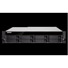 Qnap TVS-872XU-RP| Intel i3 - Quad Core| Storage NAS | 8 baias | 10 GbE Iser |