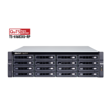 Storage 16 bay Qnap TS-h1683XU-RP - Xeon - QTS Hero ZFS - até 256 TB