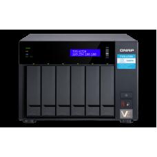 Qnap TVS-672N | Storage 6 baias | 5 Gigabit Ethernet