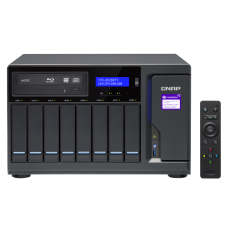 Qnap TVS-882BRT3 | Storage NAS e DAS | 8 baias |Tiering | Thunderbolt 3 | 10 Gigabit Ethernet